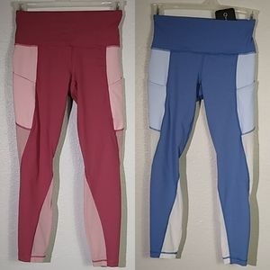 Active Life Leggings 2 Pairs Size Small